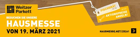 Hausmesse 2021 Fischgrät ist in